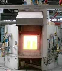 Oven for firing and dewax